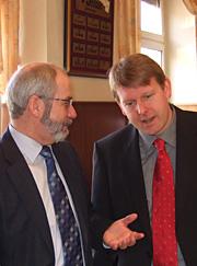 Im Gespräch mit SPD-Fraktionschef Wolfgang Große Brömer